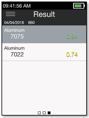 Match Result Screen