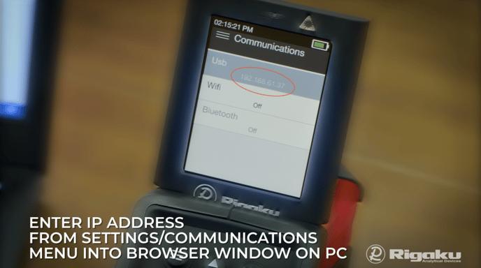 USB IP Address